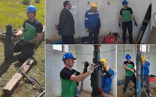 با تعمیر الکتروپمپ چاه شماره 4 فومن 15 لیتر برثانیه به میزان اب شهر افزوده شد