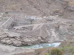 فعالیت کارگاه سد دالکی در 9 جبهه کاری
