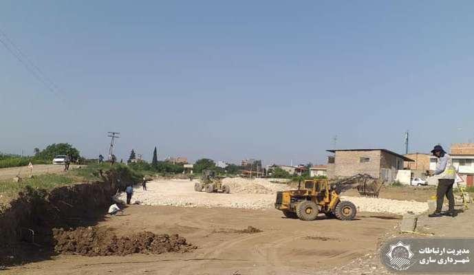 استمرار سازندگی در مناطق سه گانه شهرداری ساری