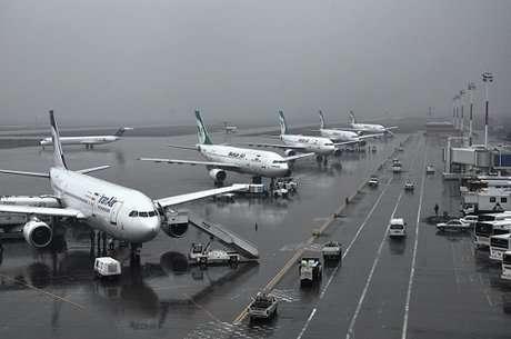 فرودگاه بین المللی مهرآباد عملیاتی است