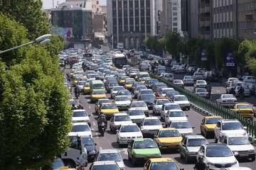 ترافیک در محور کرج -چالوس سنگین است
