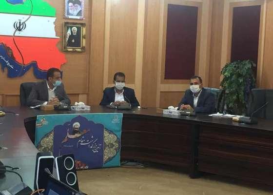 اولین جلسه کارگروه مدیریت پسماند استان بوشهردر سال ۹۹ برگزارشد