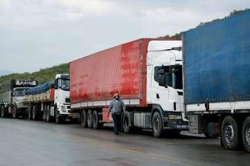 اغلب کامیونهای ایرانی وارد کشور شدهاند