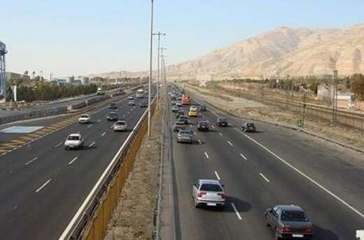 کاهش ۲.۱ درصدی تردد بین جادهای در شبانه روز گذشته