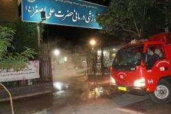 ضدعفونی معابر و اماکن شیراز هدفمند انجام میشود