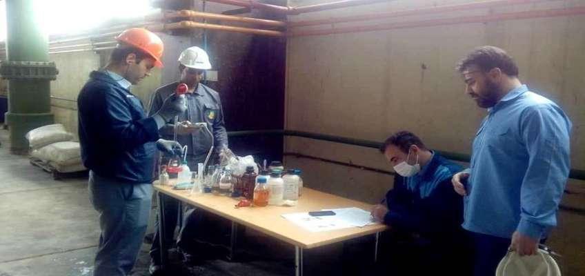 کشف فرمولاسیون کم خطر و کاربردی برای شستشوی کولر روغن توربین نیروگاه بیستون