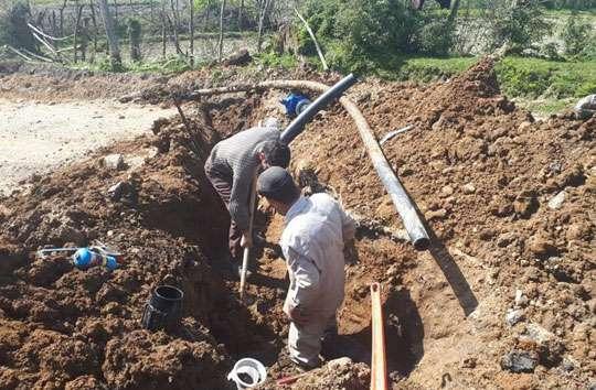 اصلاح 500انشعاب و حذف 7 کیلومتر شبکه فرسوده قدیمی شهرستان تالش تاپایان سال
