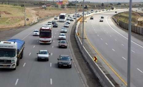 تردد بین جادهای ۱.۳ درصد کاهش یافت