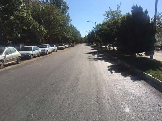 اتمام عملیات آسفالت ریزی در مسیر خیابان  ۳۵ متری وحدت با توزیع ۵۲۰ تن آسفالت