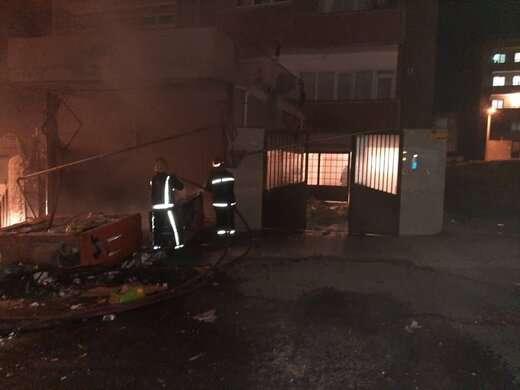نشت گاز شهری علت انفجار شدید در شهرک اندیشه