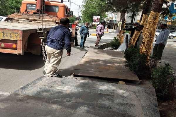 اجرای عملیاتهای عمرانی در محلههای مختلف منطقه 2 قزوین