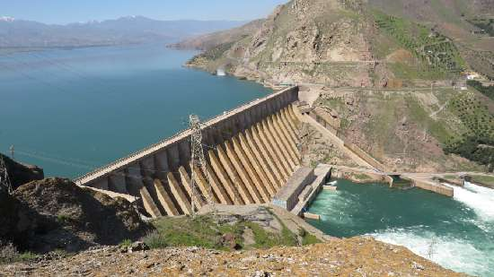 ورود ۵۴۵ میلیون متر مکعب آب از سد سفید رود به شالیزارهای...