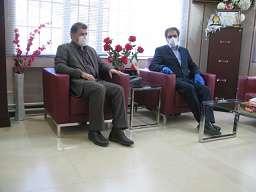 نشست مشترک مدیرعامل شرکت با فرماندار پیرانشهر