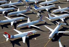 دو سوم هواپیماهای جهان زمینگیر شدهاند!