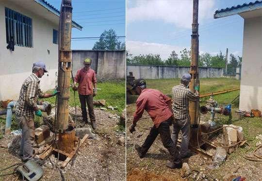 لایروبی و بهسازی چاه روستای پیرهرات