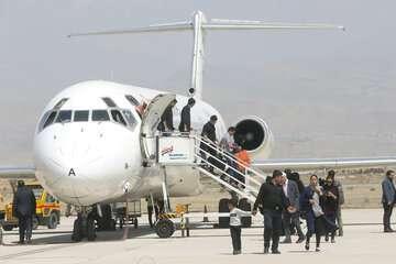 کاهش ۸۰ درصدی جابجایی مسافر در فرودگاههای کشور