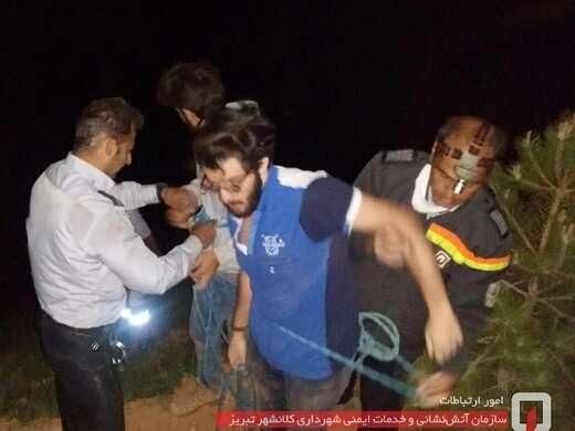 دو شهروند گرفتار از پرتگاه کوه عون بن علی نجات یافتند