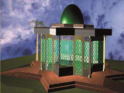 طرح نمازخانه در بوستان ملت به اتمام رسید