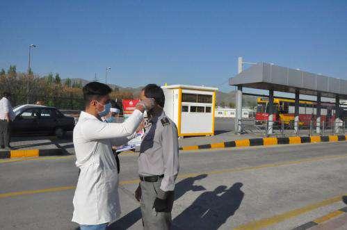 پایش سلامت روزانه کارکنان سازمان اتوبوسرانی شهرداری مشهد