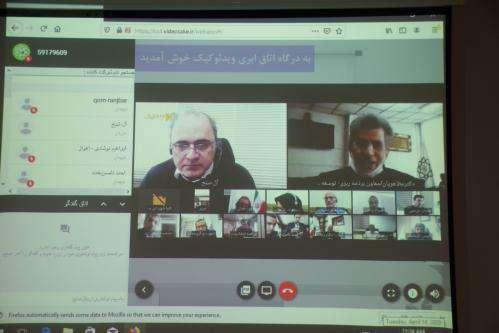 برگزاری جلسات سازمانی شهرداری به صورت ویدئوکنفرانس