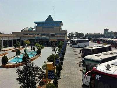 بهسازي پايانه مسافربري آزادگان شهر قزوين در سال جاري