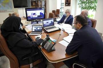 برگزاری اولین جلسه مجمع شرکت ساخت و توسعه زیربناهای حملونقل کشور از طریق ویدئوکنفرانس
