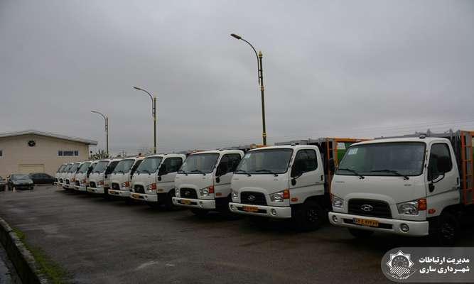 خرید 22 دستگاه ماشین مکانیزه زباله/ جمع آوری زباله در ساری مکانیزه میشود