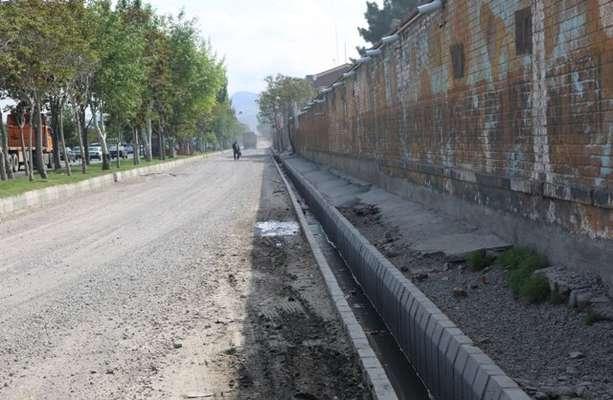 اتمام احداث کانال آب های سطحی دیزل آباد