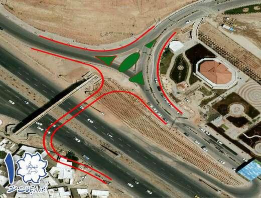 کلنگزنی ۲پروژه پل اتصال پارکینگ عون بن علی به سمت میدان شهید فهمیده و احداث خروجی ضلع جنوبی اتوبان  ...