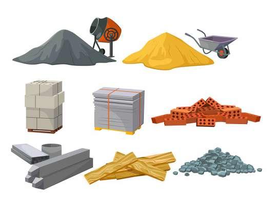 قیمت انواع  مصالح ساختمانی