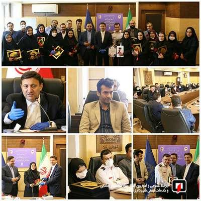 نشست شهردار رشت با مدیران و کارشناسان روابط عمومی های شهرداری رشت
