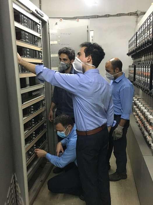 نصب سیستم رویت پذیری مخازن سوخت شرکت مدیریت تولید برق لوشان