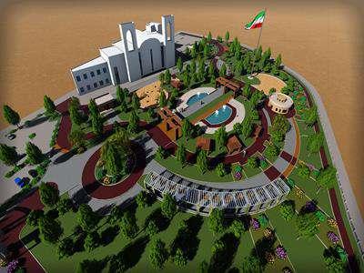 بازطراحی پروژه بوستان سرتک به پایان رسید