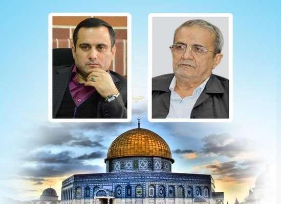 پیام رییس شورای اسلامی شهر و شهردار ساری به مناسبت روز جهانی قدس
