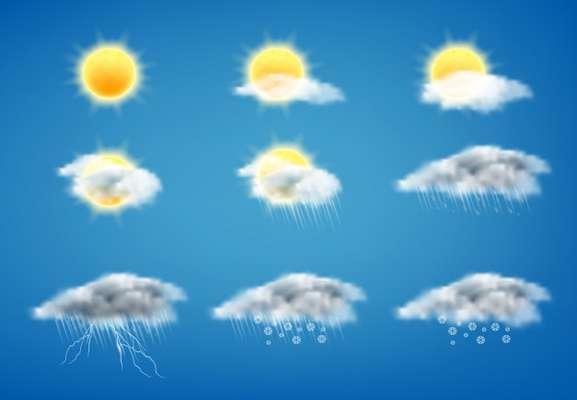 وضعیت آب و هوا در ۳ خرداد؛ بارش باران در غرب سواحل دریای خزر