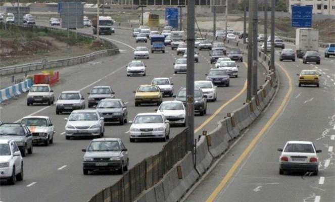 کاهش ۱۰.۹ درصدی تردد در محورهای برون شهری