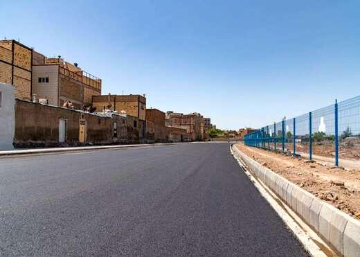 توزیع ۱۲۰۰ تن آسفالت در خیابان شهید خلیلی