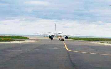 طرح توسعه باند جدید فرودگاه رامسر بهره برداری شد