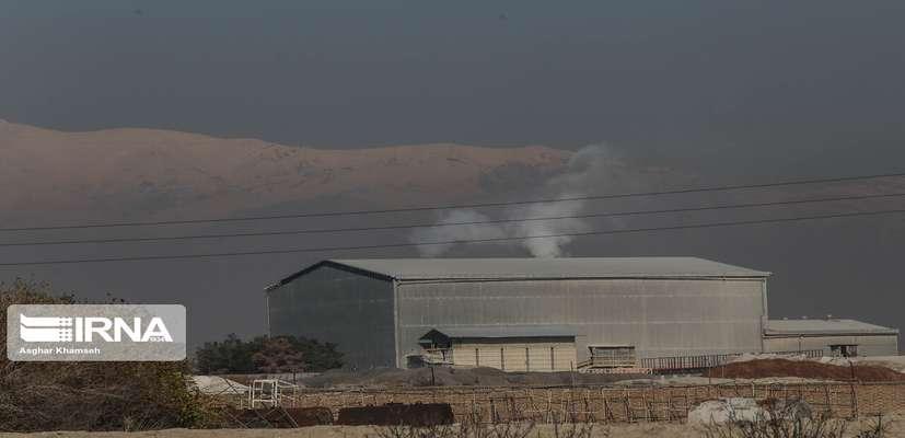 تهيه بانك اطلاعاتي منابع ثابت در آلودگي هوا