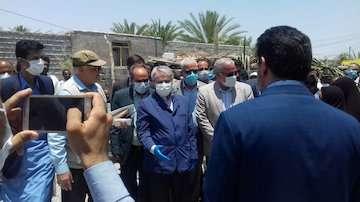 بهره برداری از ۴۱۰۰ واحدهای مسکن ویژه محرومان در ایرانشهر