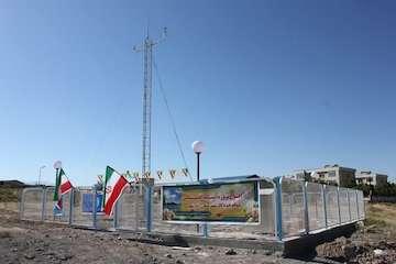 افتتاح ایستگاه اقلیمشناسی تمام خودکار شهرستان آذرشهر