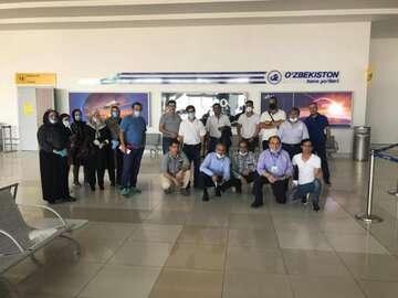 دومین پرواز اختصاصی برای انتقال ایرانیان از ازبکستان به کشور
