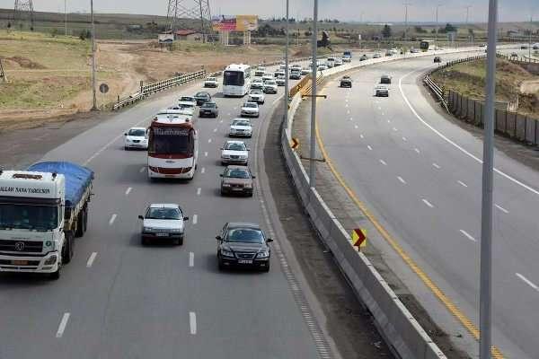 وضعیت محورهای مواصلاتی در ۹ خرداد/افزایش ۰.۲ درصدی تردد در جادهها