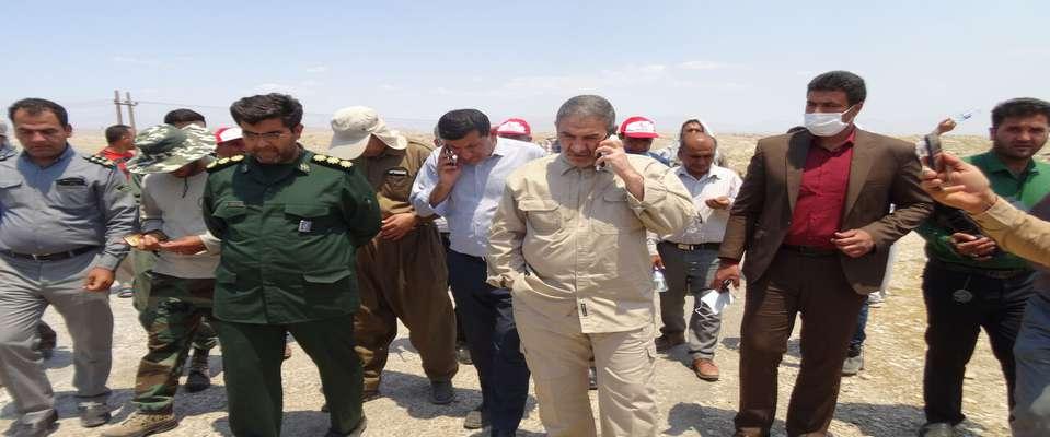 سه بالگرد آب پاش برای اطفای حریق کوه خاییز تامین شد