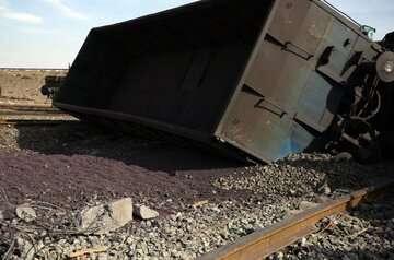 حادثه قطار در آپرین خسارت جانی و مالی نداشت