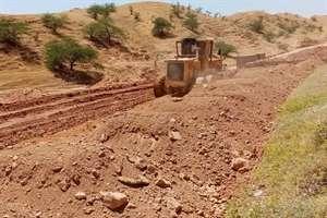 آغاز عملیات اجرایی پروژه چهار خطه کردن محور شوشتر- مسجد سلیمان