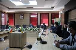ملاقات مدیر کل راه وشهرسازی استان کرمان با مدیرکل آموزش و پرورش استان کرمان