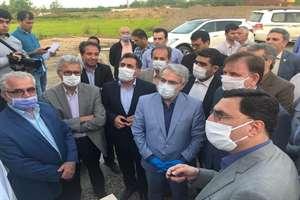 بازدید معاون رئیس جمهور از پروژه آزاد راه رشت - قزوین در محدوده منجیل_رودبار