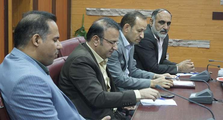 دیدار نمایندگان بانک تجارت از انجمن شرکت های عمرانی خوزستان