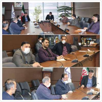 جلسه ی هم اندیشی و بررسی موضوعات پیرامون طرح مسکن ملی